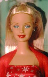 2002 Season's Sparkle Barbie