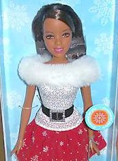 2007 Holiday Wishes Barbie