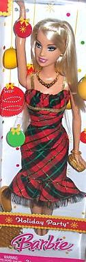 2008 Holiday Party Barbie