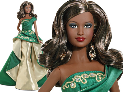 African-American 2011 Holiday Barbie Doll