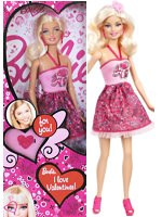 2013 I Love Valentines Barbie