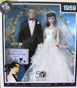 Ken and Barbie Wedding Day Set Reproduction
