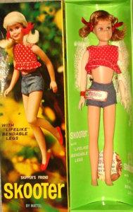 Vintage Skooter Doll - Bendable Legs