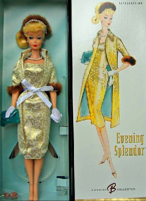 Evening Splendor Vintage Barbie Reproduction