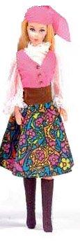 Vintage Barbie Festival Fashion