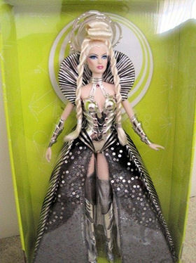 2011 Goddess of the Galaxy Barbie in Box