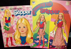 Growing Up Skipper Doll Paper Dolls