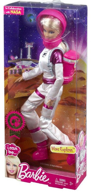 2013 Mars Explorer Barbie in Box