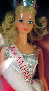 Quick Curl Miss America Doll