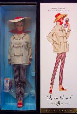 Open Road Vintage Barbie Reproduction