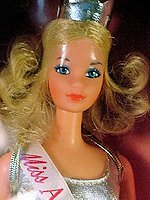 Quick Curl Miss America Barbie Doll