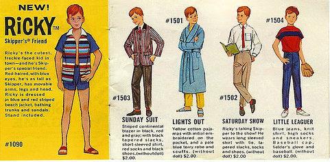Vintage Ricky Doll Booklet