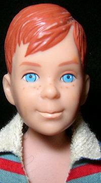 Vintage Ricky Doll Face