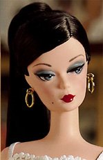 Brunette Lingerie Silkstone Barbie
