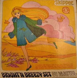Vintage Skipper Bright 'n Breezy Gift Set, Sears Exclusive #1590 (1969)