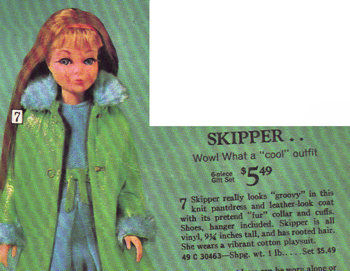 Skipper Doll Wow! What a Cool Outfit Sear's Catalog