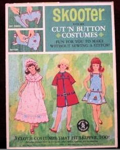Skooter Cut 'n Button Set - Sears Exclusive #1036 (1965 - 1967)