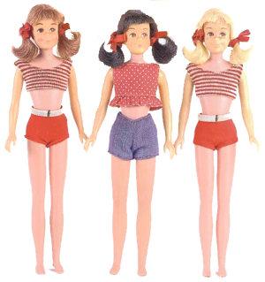 Vintage Skooter Dolls