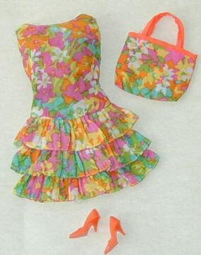Vintage Barbie Bouncy Flouncy
