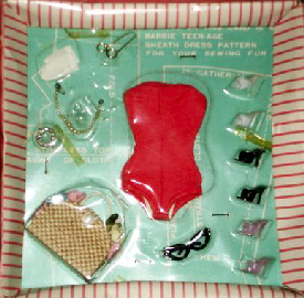 Vintage Barbie Doll Accessories #923 (1961-1962)