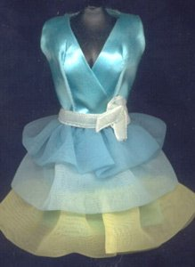 Vintage Barbie Dreamy Blues