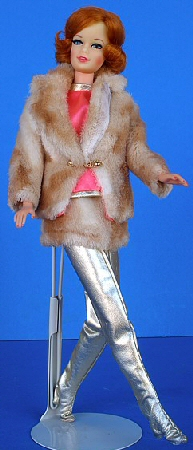 Vintage Barbie Fab Fur
