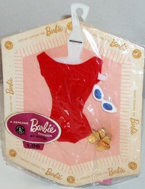 Vintage Barbie Fashion Pak Helenca Swimsuit
