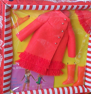 Vintage Barbie Fiery Felt