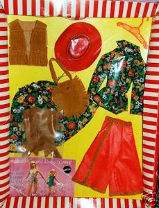Vintage Barbie Gaucho Gear NRFB