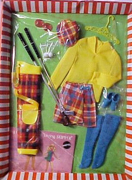 Vintage Barbie Golfing Greats