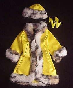 Vintage Barbie Great Coat
