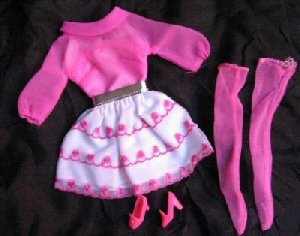 Vintage Barbie Happy Go Pink