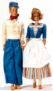 Vintage Barbie In Holland