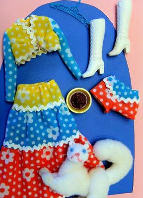 Vintage Barbie Kitty Kapers #1062 (1972)
