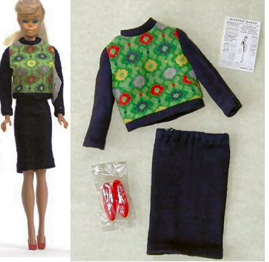 Vintage Barbie Knit Hit