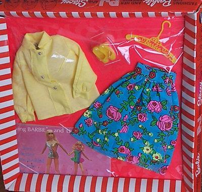 Vintage Barbie Midi Mood