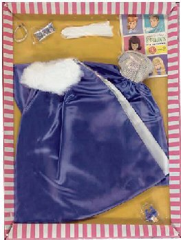 Vintage Barbie Midnight Blue