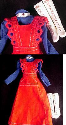 Vintage Barbie O-Boy Corduroy