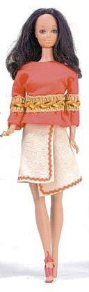 Vintage Barbie Peasant Pleasant