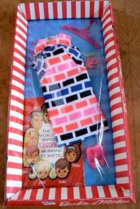 Vintage Barbie Print Aplenty NRFB