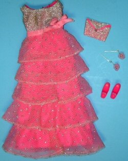 Vintage Barbie Romantic Ruffles