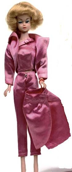 Vintage Barbie Satin N Rose