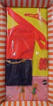 Vintage Barbie Shift Into Knit