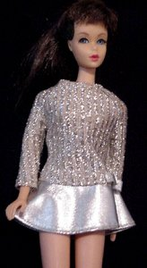 Vintage Barbie Salute to Silver