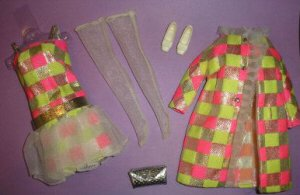 Vintage Barbie Sparkle Squares