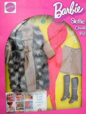 Vintage Barbie Suede 'n Fur