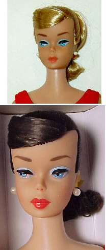 Vintage Barbie Swirl Ponytail Dolls
