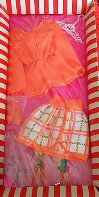 Vintage Barbie Tangerine Scene