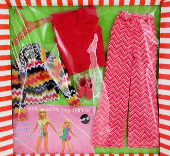 Vintage Barbie The Zig Zag Bag Ensemble