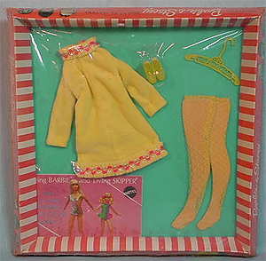 Vintage Barbie Yellow Mellow